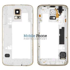 Samsung Galaxy S5 G900F Back Chassis - Gold